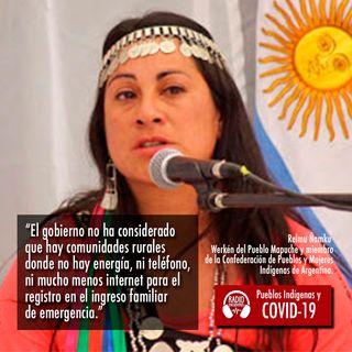 Argentina: Situación del pueblo Mapuche frente al Covid-19