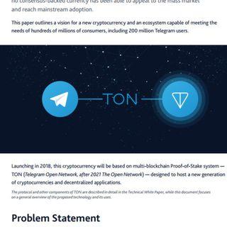 786 Durov e il Telegram Open Network per la blockchain di terza generazione