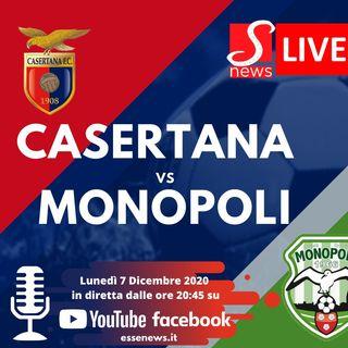 Diretta Lega PRO :::: Casertana - Monopoli 2 - 1 :::: Serie C girone C