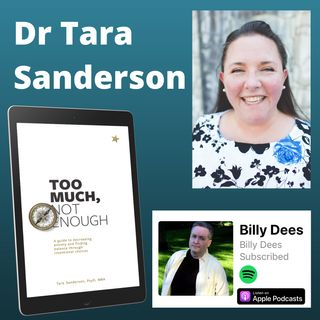 Interview with Dr Tara Sanderson - Decreasing Anxiety and Finding Balance