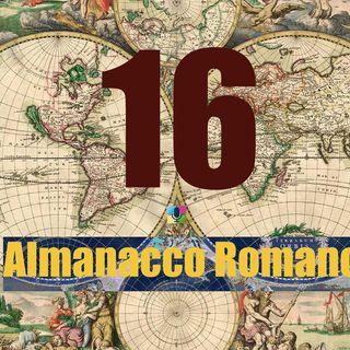 Almanacco romano - 16 novembre