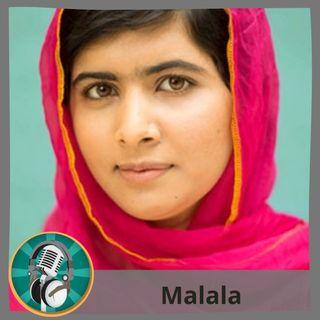 Alejandro Sors con Malala