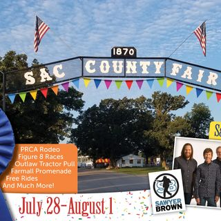 Sac County Fair Iowa - pre-fair interview by Countyfairgrounds