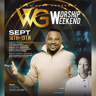 The Worship Gathering Weekend in San Antonio #WGSA21 Event Sept. 18th-19th