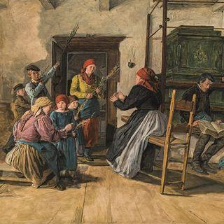 Ferdinand Georg Waldmüller - Palmsonntag