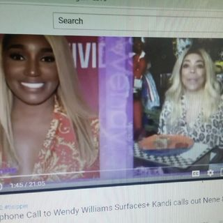 NeNe Vs Wendy Williams Pt 2!!!! Wendy Lied!!!Lovely TI Defends Wendy????