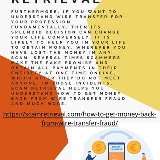 Certainties Act to Get Money Back from Wire Transfer Fraud