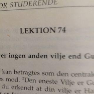 Lektion 74