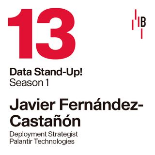 Javier Fernández-Castañón · Deployment Strategist at Palantir Tech. y Director of Digital Healthcare at OdiseIA - Ethical AI