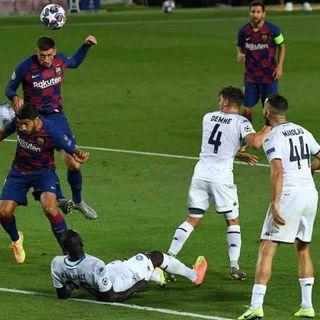 Calcio, troppo Messi: anche il Napoli saluta la Champions. Barcellona-Bayern nei quarti