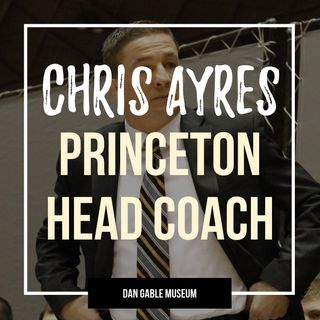 Princeton head wrestling coach Chris Ayres - OTM552