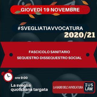 FASCICOLO SANITARIO – SEQUESTRO-DISSEQUESTRO SOCIAL – #SVEGLIATIAVVOCATURA