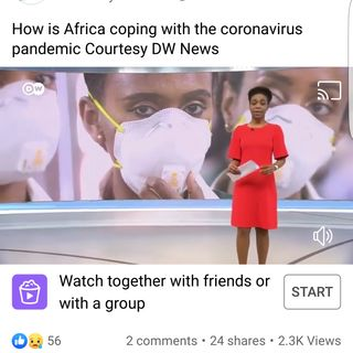 How is Africa coping with the coronavirus pandemic Courtesy DW News