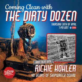 Episode #5: Richie Kohler; 40 Years Of Shipwreck Diving