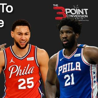 The 3 Point Conversion Sports Lounge - Ben Simmons Destination, Worried About Clemson, Hawks Expectations, Justin Fields Time, Yankees-Sox