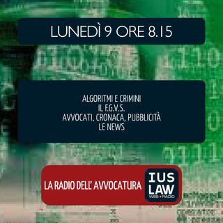 FGVS | ALGORITMI E CRIMINI | AIGA - VERMIGLIO - Riflessioni -  Lunedì 9 Aprile 2018 #Svegliatiavvocatura