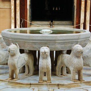 Leyenda del patio de los leones. Granada