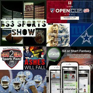 BS3 Sports Show 9.10.16 (Sponsors @TheJamesMPat @H2HSportsFans @SitOrStartApp)