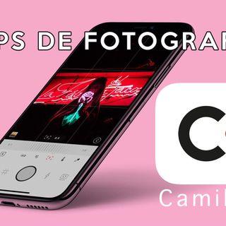 6: Apps para fotografía. CAMILLE