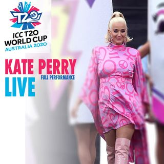 Katy Perry  - Live at ICC Women's T20 World Cup 2020 - Roar | Firework | Full Performance |
