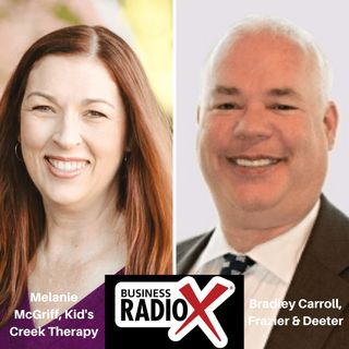 Melanie McGriff, Kid's Creek Therapy and Bradley Carroll, Frazier & Deeter