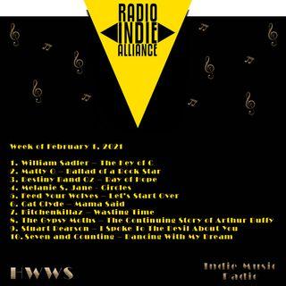 HWWS Indie Music Spotlight Top Ten 02012021