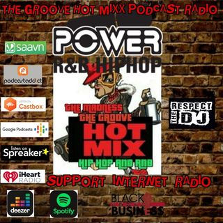 THE GROOVE HOT MIXX PODCAST RADIO SUPPORT PODCAST RADIO