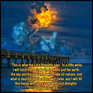 GOD IS PREPARING TO SHAKE THE NATIONS OF THE WORLD