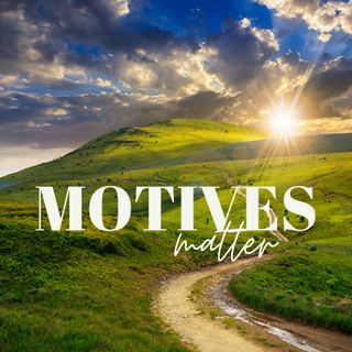 Motives Matter with running river sounds