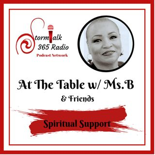 At The Table w/ Ms.B - Let Go, Let GOD!