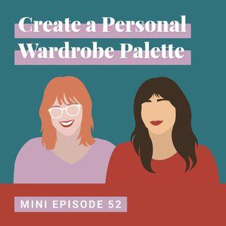 Create a Personal Wardrobe Palette