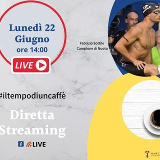 Un caffè con Fabrizio Sottile campione di nuoto paralimpico