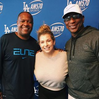 Alex talks Eagles Super Bowl chances with Rodney Peete & Eric Dickerson