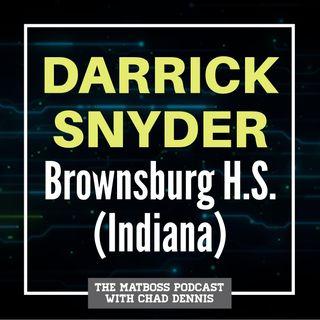 Brownsburg (Ind.) head coach Darrick Snyder
