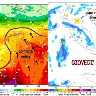 Previsioni meteo 8-10 settembre: L'estate continua con bel tempo e temperature in aumento