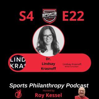 S4:EP22--Lindsay Sarah Krasnoff