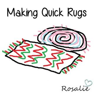 Making Quick Rugs
