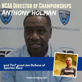 Spartan Race's Joe De Sena and NCAA Managing Director of Championships Anthony Holman - OTM601