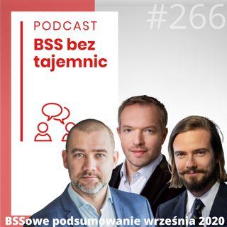 #266 BSSowe podsumowanie września 2020