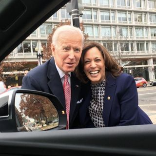 JOE BIDEN'S VICE PRESIDENT & WOMAN OF COLOR!