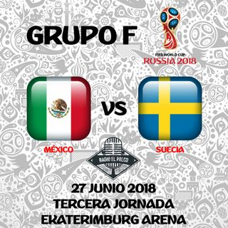 México vs Suecia en VIVO
