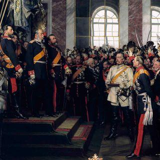 Kaiserproklamation von Wilhelm I. in Versailles (am 18.01.1871)
