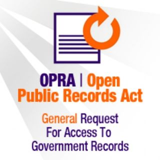 Activist Corey Teague Files OPRA Request of Government Records