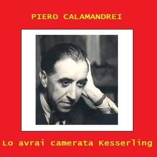 P. Calamandrei - Lo avrai camerata Kesserling