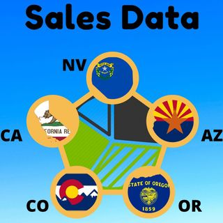 Detailed Look at Cannabis Sales in CA, OR, AZ, CO & NV