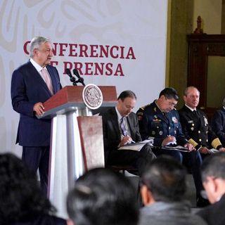 López Obrador lamenta ataque contra policías en Michoacán