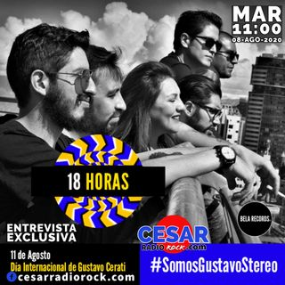 18 HORAS interview GUSTAVO STEREO