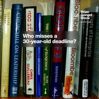 Who misses a deadline by 30 years?