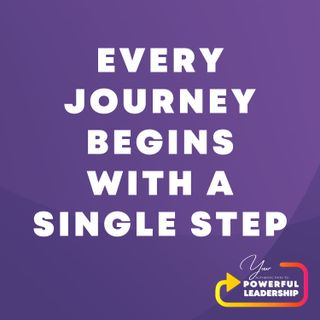 Episode 1: Every Journey Begins With a Single Step