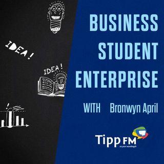 Bronwyn April talks about Business Student Enterprise